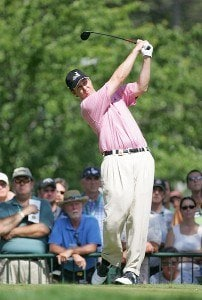 J.J. Henry during the first round of the 88th PGA Championship at Medinah Country Club in Medinah, Illinois, on August 17, 2006.Photo by Sam Greenwood/WireImage.com