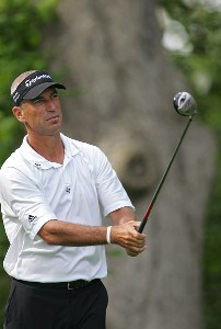 Corey Pavin during the second round of the Barclays Classic held at Westchester Country Club in Rye, New York on June 9, 2006.Photo by Sam Greenwood/WireImage.com