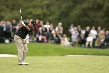 Stephen Dodd during the first round of the 2005 Barclays Scottish Open at the Loch Lomond Golf Club. July 7, 2005Photo by Pete Fontaine/WireImage.com