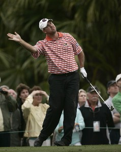 Boo Weekley on the 15th hole during the final round of the Honda Classic on the Champion Course at PGA National in Palm Beach Gardens, Florida on Sunday, March 4, 2007. PGA TOUR - The 2007 Honda Classic - Final RoundPhoto by Sam Greenwood/WireImage.com