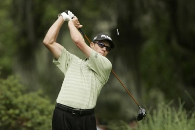 Nick O'Hern of Australia during the final round of the Verizon Heritage Classic at the Harbour Town Golf Links in Hilton Head, South Carolina on April 15, 2007 Photo by Michael Cohen/WireImage.com