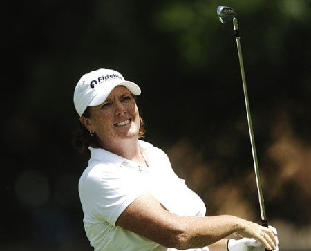 Meg Mallon in action during the third round of the 2005 U.S. Women's Open at Cherry Hills Country Club in Englewood, Colorado, June 25, 2005.Photo by Steve Grayson/WireImage.com