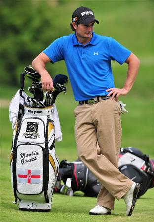 TURIN, ITALY - MAY 08:  Gareth Maybin of Northern Ireland on the eighth hole duing the second round of the BMW Italian Open at Royal Park I Roveri on May 8, 2009 near Turin, Italy.  (Photo by Stuart Franklin/Getty Images)