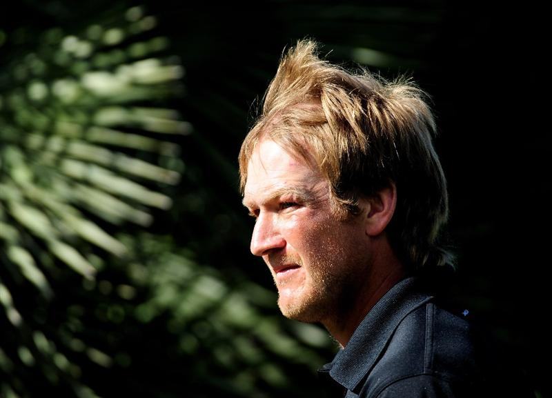 MALLORCA, SPAIN - MAY 15:  Pelle Edberg of Sweden during the third round of the Open Cala Millor Mallorca at Pula golf club on May 15, 2010 in Mallorca, Spain.  (Photo by Stuart Franklin/Getty Images)