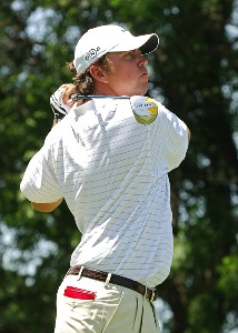 Bo Van Pelt tees off the 7th hole during the third round of the EDS Byron Nelson Championship held at the TPC Players Course and the Cottonwood Valley Course on Saturday, May 13, 2006 in Irving, TexasPhoto by Marc Feldman/WireImage.com