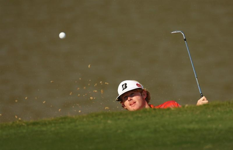 SHENZHEN, CHINA - NOVEMBER 26:  Brandt Snedeker of USA in action during the Pro - Am of the Omega Mission Hills World Cup at the Mission Hills Resort on November 26, 2008 in Shenzhen, China.  (Photo by Ian Walton/Getty Images)