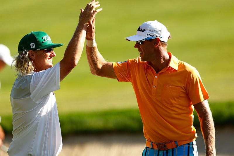Charley Hoffman and Graham DeLaet