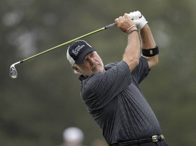 John Jacobs during the first round of the FedEx Kinko's Classic held at The Hills Country Club in Austin, TX, on April 28, 2006. Photo by: Steve Levin/WireImage.com