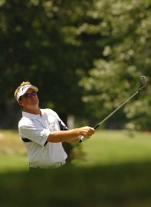Brian Gay during  the third round of the Stanford St. Jude Chamionship at the TPC Southwind on Saturday, June 9, 2007 in Memphis, Tennessee PGA TOUR - 2007 Stanford St. Jude Championship - Third RoundPhoto by Marc Feldman/WireImage.com