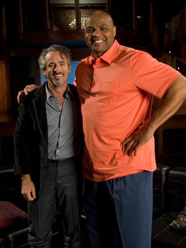 Charles Barkley with David Feherty