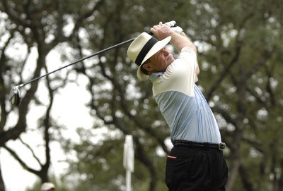 Tom Kite during the second round of the AT&T Championship at Oak Hills Country Club in San Antonio, Texas, on October 21, 2006. Champions Tour - 2006 AT&T Championship - Second RoundPhoto by Steve Levin/WireImage.com