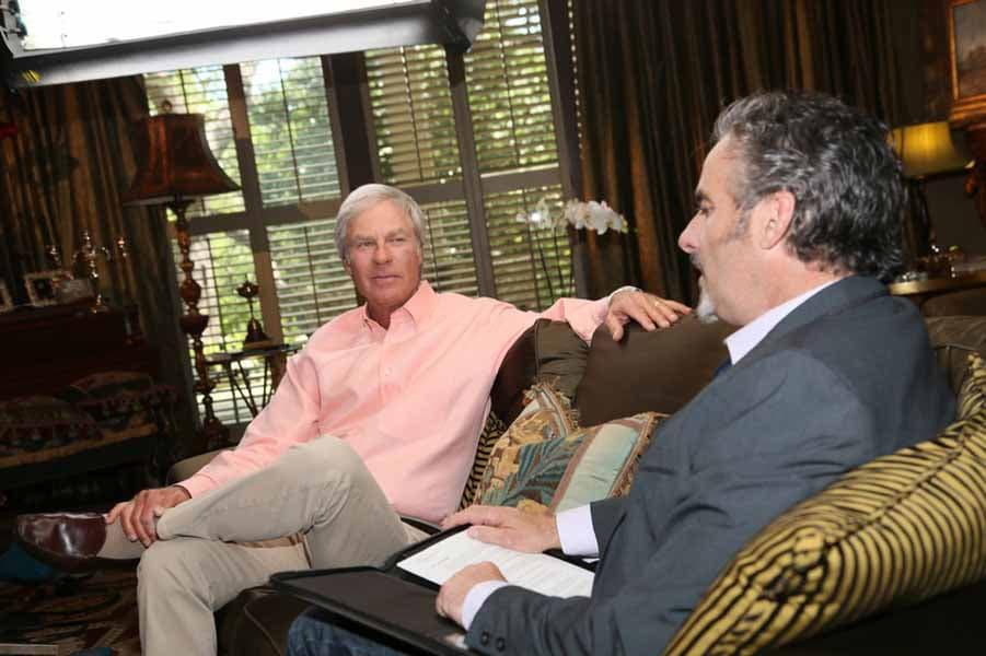 David Feherty and Ben Crenshaw