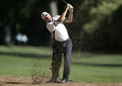 Cliff Kresge hits from ninth fairway during the first round of the 2007 Verizon Heritage Classic at Harbour Town Golf Links in Hilton Head Island on April 9 PGA TOUR - 2007 Verizon Heritage - First RoundPhoto by Steve Grayson/WireImage.com
