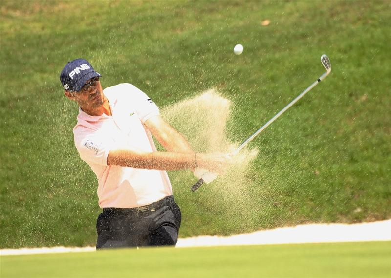 CHENGDU, CHINA - APRIL 23:  Gregory Havret of France in action during day three of the Volvo China Open at Luxehills Country Club on April 23, 2011 in Chengdu, China.  (Photo by Ian Walton/Getty Images)