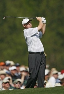 Chad Campbell during the first round of the 2006 Masters at the Augusta National Golf Club in Augusta, Georgia on April 6, 2006.Photo by Hunter Martin/WireImage.com