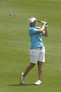 Becky Morgan during the second round of the LPGA Michelob ULTRA Open at Kingsmill at Kingsmill Resort and Spa in Williamsburg, Virginia on May 11, 2007 LPGA - 2007 Michelob ULTRA Open - Second RoundPhoto by Al Messerschmidt/WireImage.com