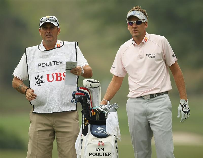 HONG KONG - NOVEMBER 20:  Ian Poulter of England looks on during day three of the UBS Hong Kong Open at The Hong Kong Golf Club on November 20, 2010 in Hong Kong, Hong Kong.  (Photo by Ian Walton/Getty Images)