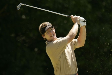 Carl Suneson during the final round of the 2005 Aa St. Omer Open at the Aa St. Omer Golf Club, June 18, 2005.Photo by Pete Fontaine/WireImage.com