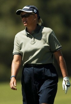 Dawn Coe-Jones in action during the second round of the 2005 LPGA  Takefuji Classic at the Las Vegas Country Club in Las Vegas, Nevada, April 15, 2005Photo by Steve Grayson/WireImage.com