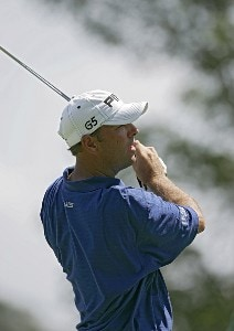 Patrick Sheehan  during the third round of the John Deere Classic at TPC at Deere Run in Silvis, Illinois on July 15, 2006.
