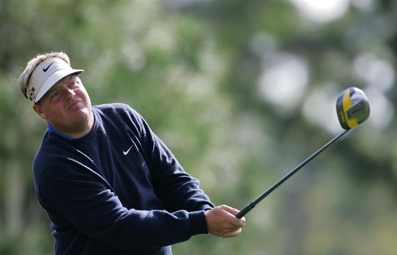 PALM HARBOR, FL - MARCH 18:  Carl Pettersson of Sweden watches his drive during the first round of the Transitions Championship at the Innisbrook Resort and Golf Club held on March 18, 2010 in Palm Harbor, Florida.  (Photo by Michael Cohen/Getty Images)
