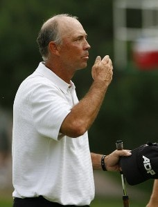 Tom lehman during the fourth and final round of The INTERNATIONAL held at Castle Pines Golf Club in Castle Rock, Colorado, on August 13, 2006.Photo by Stan Badz/PGA TOUR/WireImage.com