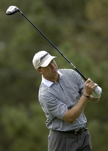 Bob Tway during the first round of 'The International' at Castle Pines Golf Club on Thurday, August 10, 2006 in Castle Rock, ColoradoPhoto by Marc Feldman/WireImage.com