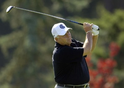 Doug Tewell during the second round of the JELD-WEN Tradition at The Reserve Vineyards & Golf Club in Aloha, Oregon on Friday, August 25, 2006.Photo by Steve Levin/WireImage.com