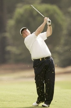 Garry Houston during the third round of the 2005 Open De Madrid at the Campo De Golf Club in Madrid, Spain on October 15, 2005.Photo by Pete Fontaine/WireImage.com