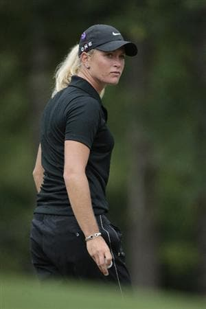 MOBILE, AL - MAY 16:  Suzann Pettersen of Norway walks across the second green during final round play in the Bell Micro LPGA Classic at the Magnolia Grove Golf Course on May 16, 2010 in Mobile, Alabama.  (Photo by Dave Martin/Getty Images)