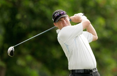 Jon Mills hits his drive from the first tee box during the first round at the Sony Open in Hawaii held at Waialae Country Club on January 10, 2008 in Honolulu, Hawaii. PGA TOUR - 2008 Sony Open in Hawaii - First RoundPhoto by Stan Badz/PGA TOUR/WireImage.com