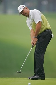 Kenneth Ferrie during the second round of the 88th PGA Championship at Medinah Country Club in Medinah, Illinois, on August 18, 2006.Photo by Sam Greenwood/WireImage.com