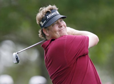 Tim Herron during practice for the 2007  Masters at the Augusta National Golf Club in Augusta, Georgia, on April 3, 2007. The 2007 Masters - Practice - April 3, 2007Photo by Hunter Martin/WireImage.com