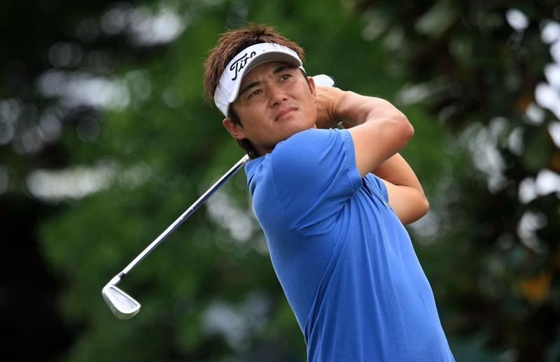 ORLANDO, FL - MARCH 28:  Ryuji Imada of Japan hits his tee shot on the second hole during the third round of the Arnold Palmer Invitational at the Bay Hill Club & Lodge on March 28, 2009 in Orlando, Florida.  (Photo by Scott Halleran/Getty Images)