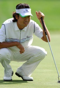 Kevin Na during the second  round of the 2006 Mark Christopher Charity Classic at the Empire Lake Golf Club in Rancho Cucamonga, California on Friday, October 6, 2006 Nationwide Tour - 2006 Mark Christopher Charity Classic - Second RoundPhoto by Marc Feldman/WireImage.com