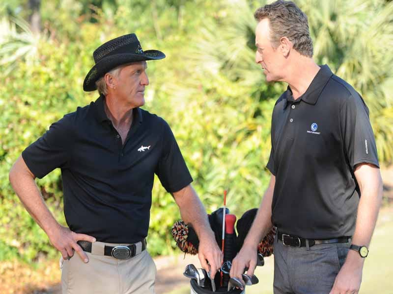 Golf Channel Academy, Greg Norman and Rich Lerner