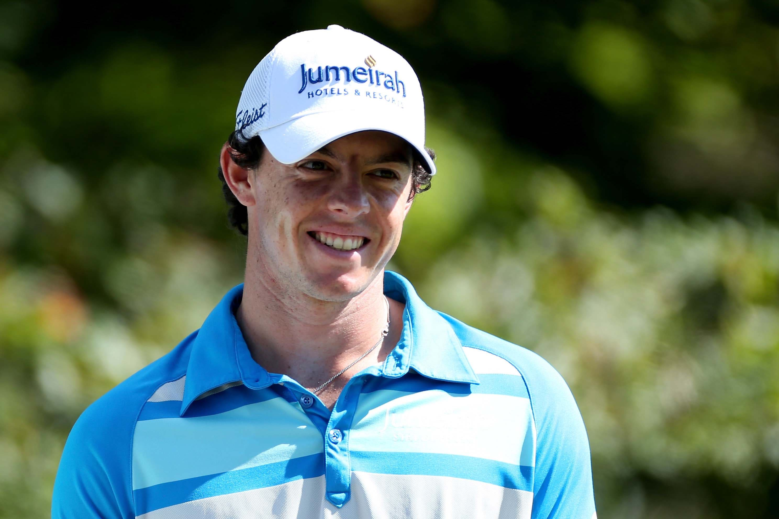 Rory McIlroy at the 2012 Deutsche Bank Championship