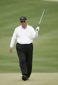 Lee Trevino during the first round of the Raphael and Legends Division at the Liberty Mutual Legends of Golf held at Westin Savannah Harbor Golf Resort & Spa in Savannah, Georgia, on April 20, 2007. Photo by: Chris Condon/PGA TOURPhoto by: Chris Condon/PGA TOUR