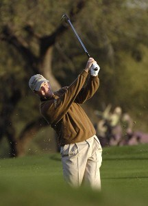 Joe Ogilvie in action during the second round of the FBR Open at the TPC Players Course on  Friday, January 3, 2006 in Scottsdale, Arizona.Photo by Marc Feldman/WireImage.com