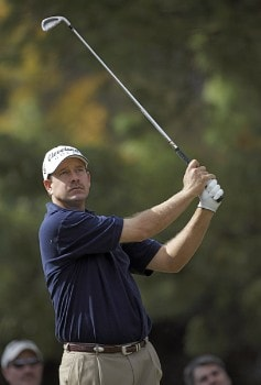 Bart Bryant in action during the second round of THE TOUR Championship at East Lake Golf Club in Atlanta, Georgia on November 4, 2005.Photo by Sam Greenwood/WireImage.com