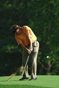 Tim Herron during the first round of the 2006 U.S. Open Golf Championship at Winged Foot Golf Club in Mamaroneck, New York on June 15, 2006.Photo by Marc Feldman/WireImage.com