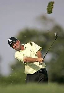 Jerry Kelly during the second round of the Booz Allen Classic at TPC Avenel in Potomac, Maryland, on June 23, 2006.Photo by Hunter Martin/WireImage.com