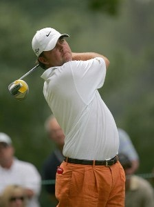 Bo Van Pelt during the second round the 2006 Wachovia Championship at the Quail Hollow Club in Charlotte, North Carolina on May 5, 2006.Photo by Sam Greenwood/WireImage.com