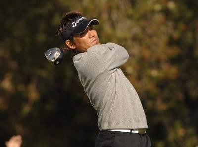 Hidemichi Tanaka in action during the first round of the PGA TOUR's 2006 Buick Invitationa at Torrey Pines South in La Jolla, California January 26, 2006Photo by Steve Grayson/WireImage.com