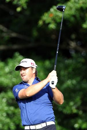 Graeme McDowell first round of The Honda Classic at PGA National Resort and Spa on March 3, 2011 in Palm Beach Gardens, Florida.  (Photo by Sam Greenwood/Getty Images)