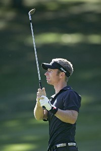 Richard Johnson during a practice round for the 88th PGA Championship at Medinah CC, Medinah, Illinois, Tuesday, August 15th, 2006.Photo by Hunter Martin/WireImage.com