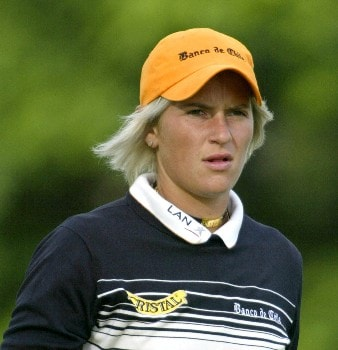 Nicole Perrot during the first round of the 2005 Sybase Classic at Wykagyl Country Club in New Rochelle, New York on May 19, 2005.Photo by Michael Cohen/WireImage.com