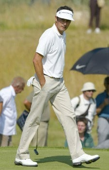 Jean Van de Velde (FRA) during the second round of the 2005 Open de France at Le Golf National in St. Quentin, France on June 24, 2005.Photo by Alexanderk/WireImage.com