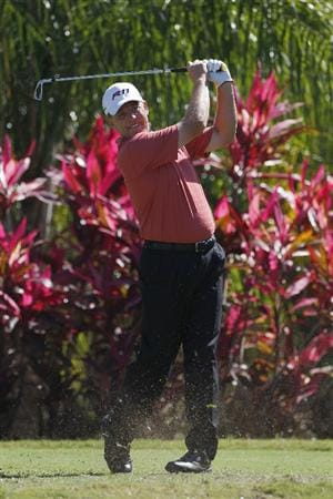 RIO GRANDE, PR - MARCH 11:  Michael Bradley hits a tee shot during the second round of the Puerto Rico Open presented by seepuertorico.com at Trump International Golf Club on March 11, 2011 in Rio Grande, Puerto Rico.  (Photo by Michael Cohen/Getty Images)