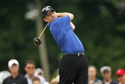 Rod Pampling during the final round of the Memorial Tournament Presented by Morgan Stanley held at Muirfield Village Golf Club in Dublin, Ohio, on June 3, 2007. Photo by Mike Ehrmann/WireImage.com